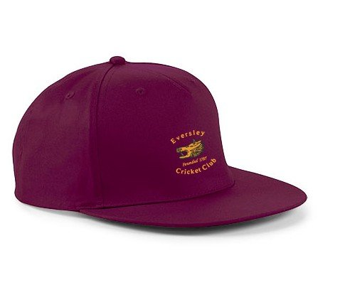 Eversley CC Maroon Snapback Hat