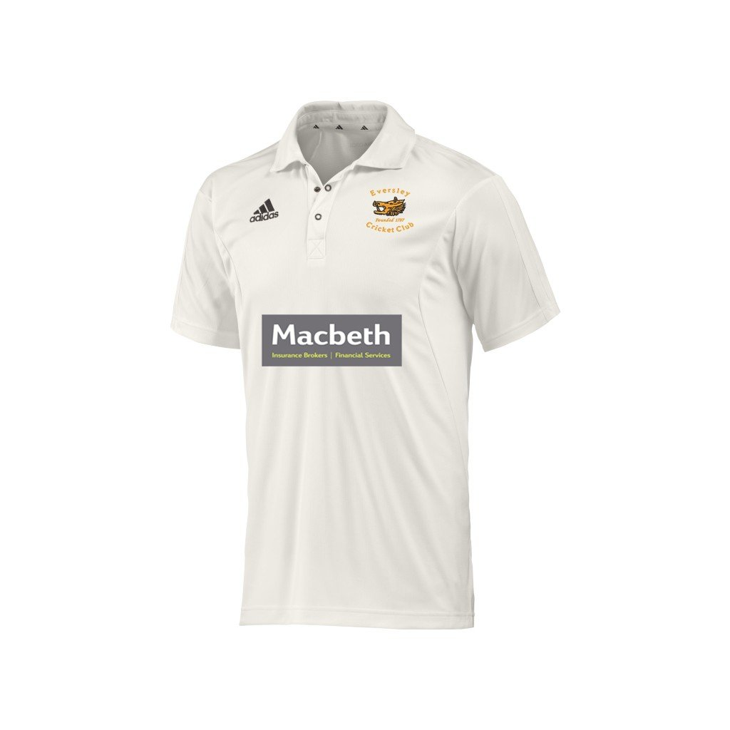 Eversley CC Adidas Elite Junior Playing Shirt