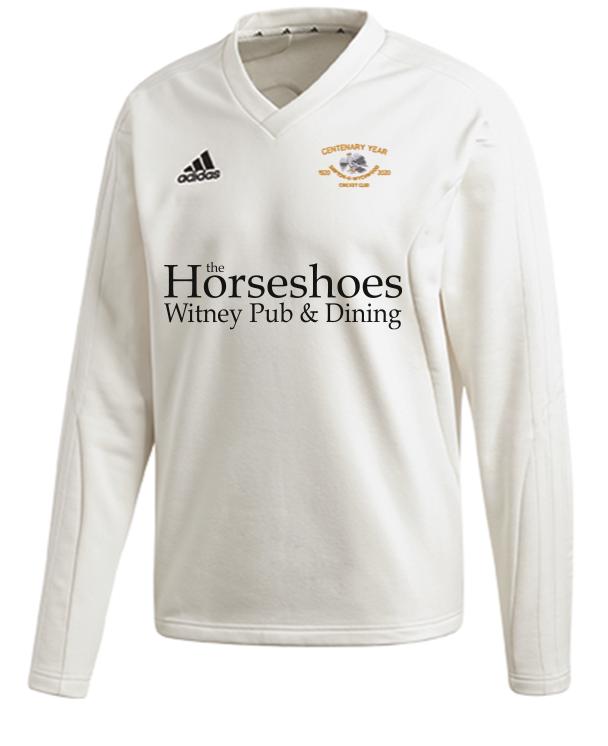 Shipton Under Wychwood CC Adidas Elite Long Sleeve Sweater