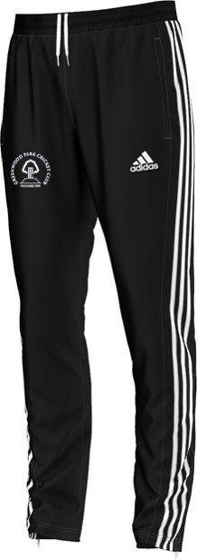 Greenwood Park CC Adidas Black Training Pants