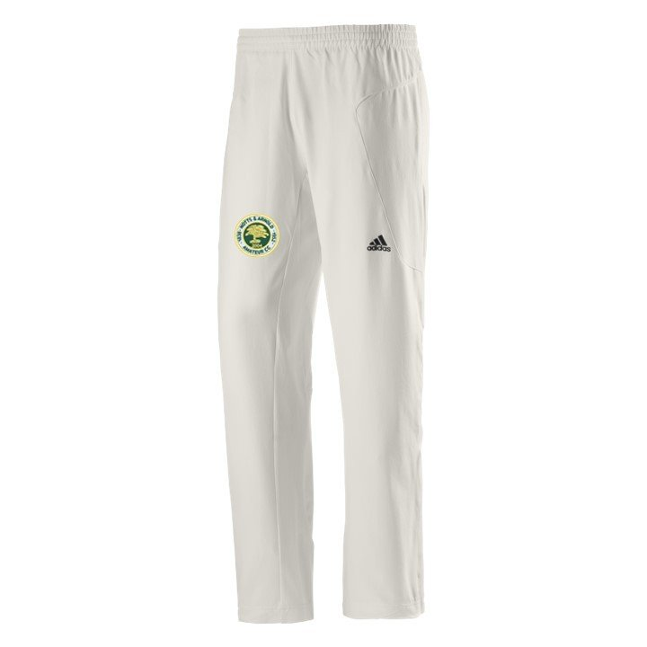 Notts and Arnold CC Adidas Elite Junior Playing Trousers