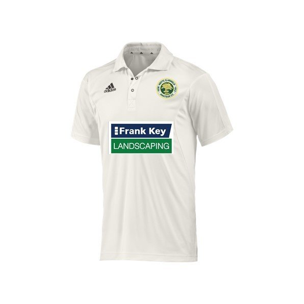 Notts and Arnold CC Adidas Elite Junior Playing Shirt
