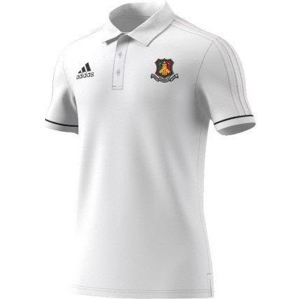 Ferguslie CC Adidas White Polo