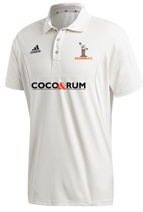 Saltburn CC Adidas Elite S/S Playing Shirt
