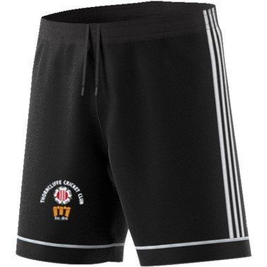 Thorncliffe CC Adidas Black Training Shorts