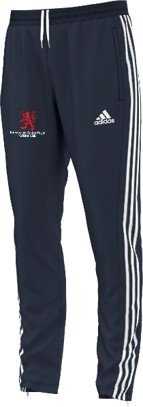 Burbage and Easton Royal CC Adidas Junior Navy Training Pants