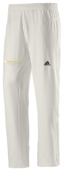 Burbage and Easton Royal CC Adidas Elite Junior Playing Trousers