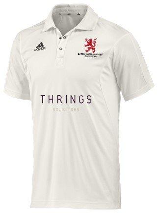 Burbage and Easton Royal CC Adidas Elite S/S Playing Shirt