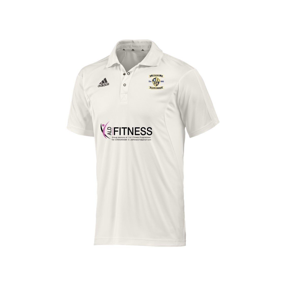Frickley Colliery Welfare CC Adidas Elite S/S Playing Shirt