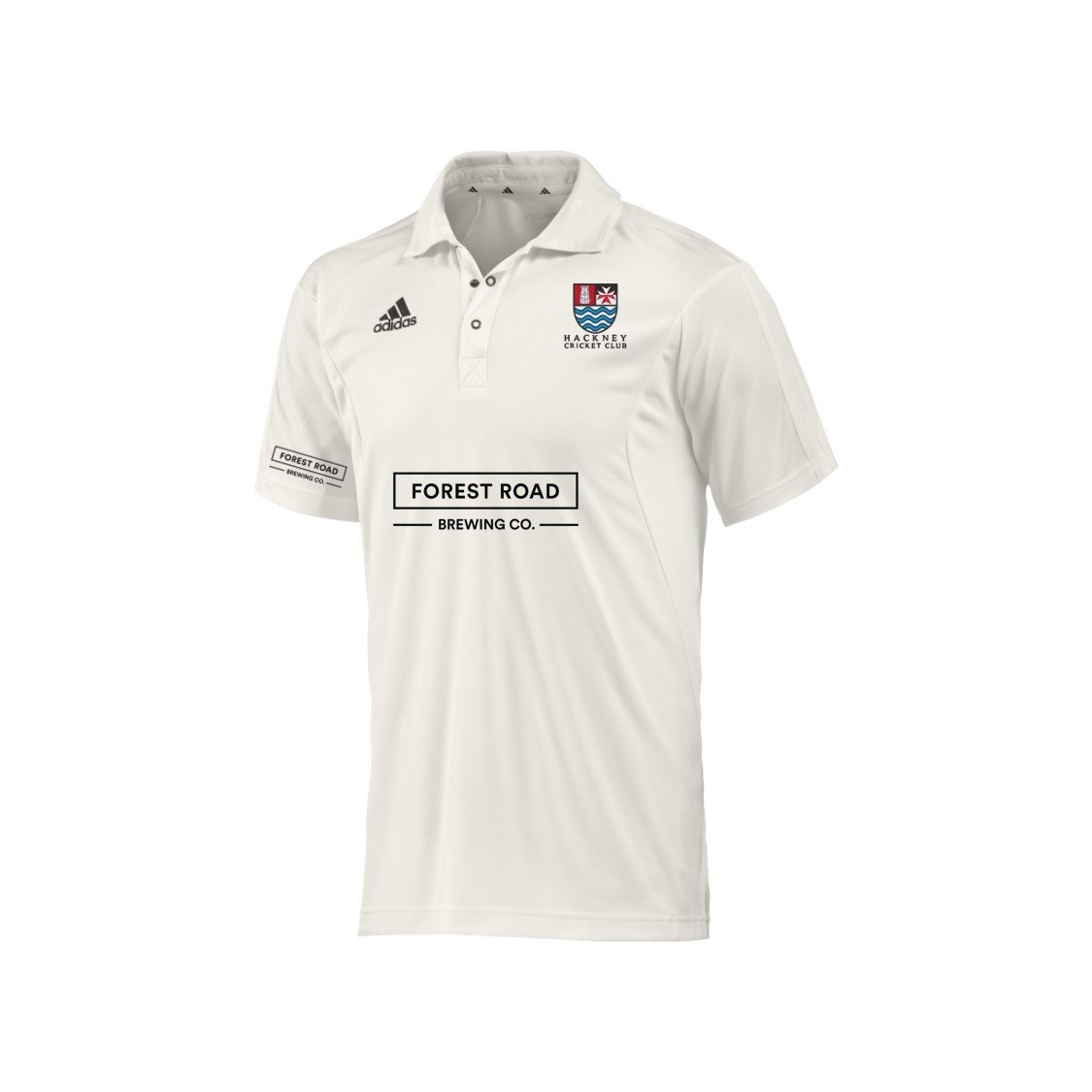 Hackney CC Adidas Elite S/S Playing Shirt