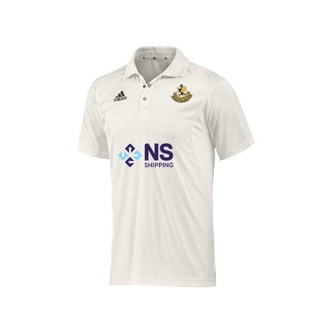 Ribblesdale Wanderers Cricket and Bowling Club Adidas Elite Junior Playing Shirt