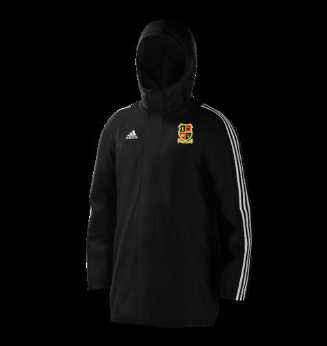 Altofts CC Black Adidas Stadium Jacket