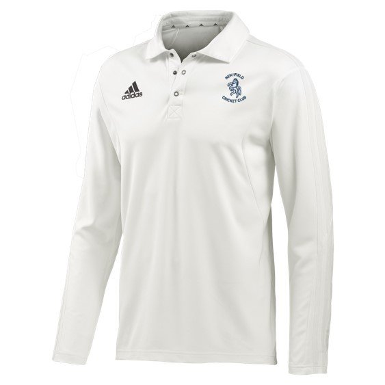 New Ilfield CC Adidas Elite L/S Playing Shirt