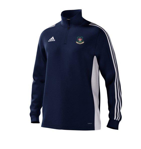 Hensall CC Adidas Navy Training Top