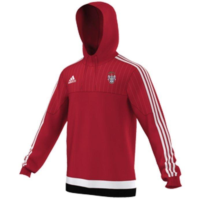 Keighley CC Adidas Red Hoody