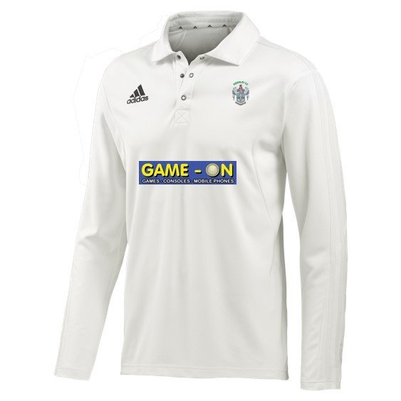 Keighley CC Adidas Elite L/S Playing Shirt