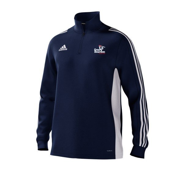 Great Beardon CC Adidas Navy Training Top