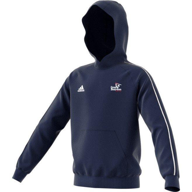 Great Beardon CC Adidas Navy Hoody
