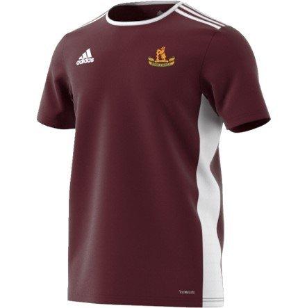 Olton and West Warwicks CC Adidas White Junior Training Jersey