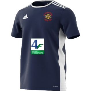 Hardingstone CC Adidas Navy Training Jersey