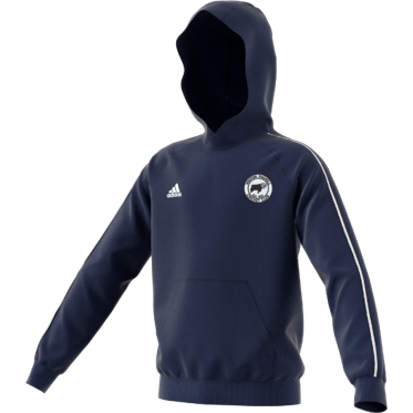 Hooton Pagnell CC Adidas Navy Junior Hoody