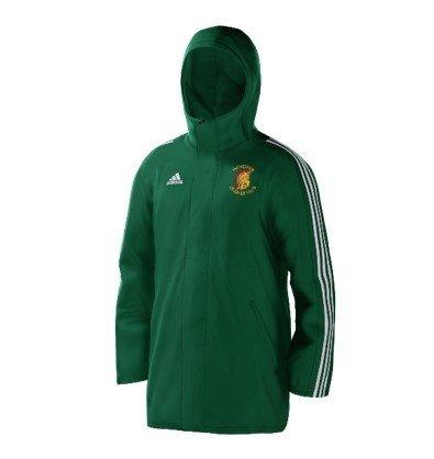 Irchester CC Green Adidas Stadium Jacket