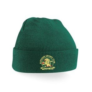 Aldridge CC Green Beanie