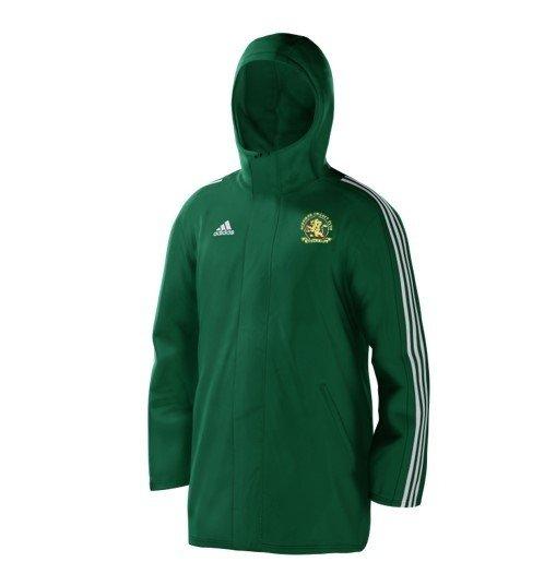 Aldridge CC Green Adidas Stadium Jacket