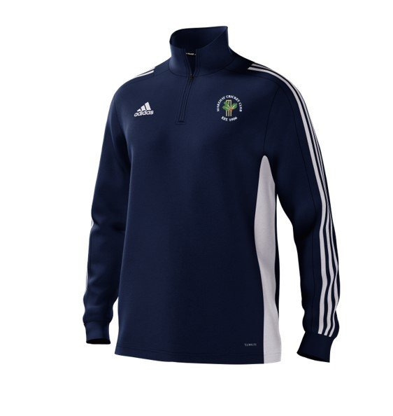 Marehay CC Adidas Navy Junior Training Top