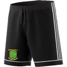 Birchfield Park CC Adidas Black Junior Training Shorts