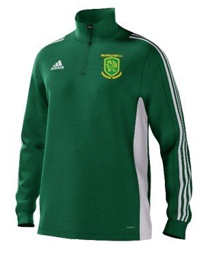 Birchfield Park CC Adidas Green Junior Training Top