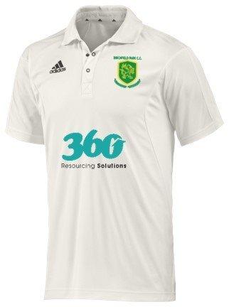Birchfield Park CC Adidas Elite S/S Playing Shirt