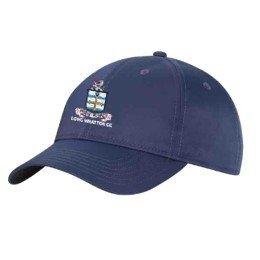 Long Whatton CC Navy Baseball Cap