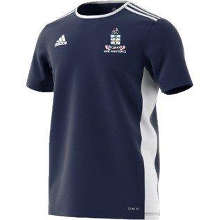 Long Whatton CC Adidas Navy Junior Training Jersey