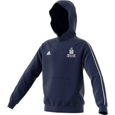 Long Whatton CC Adidas Navy Junior Hoody