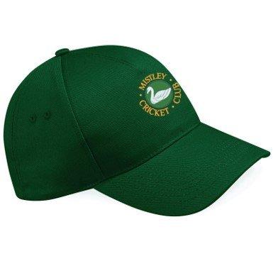 Mistley CC Green Baseball Cap