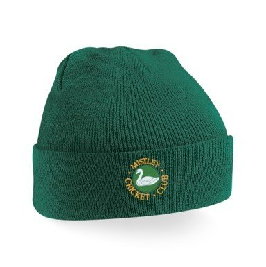 Mistley CC Green Beanie