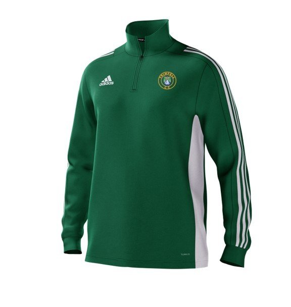 Trimpell CC Adidas Green Training Top