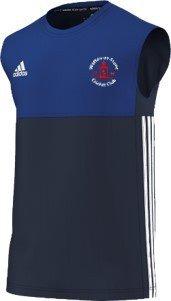 Watton at Stone CC Adidas Navy Training Vest