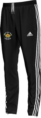 Hopton Mills CC Adidas Black Junior Training Pants