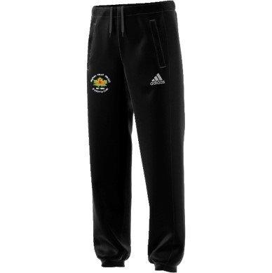 Hopton Mills CC Adidas Black Sweat Pants