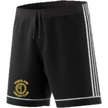 Ponteland CC Adidas Black Junior Training Shorts