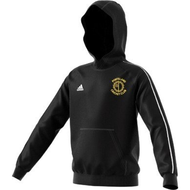 Ponteland CC Adidas Black Junior Hoody