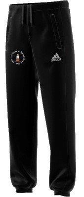 St Crispin & Ryelands CC Adidas Black Junior Training Shorts
