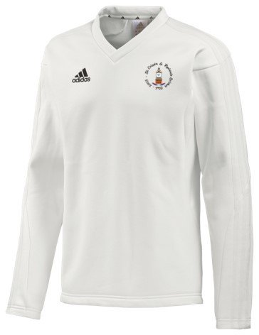 St Crispin & Ryelands CC Adidas L/S Playing Sweater