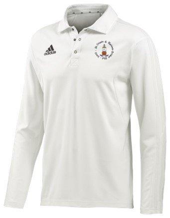 St Crispin & Ryelands CC Adidas Elite L/S Playing Shirt