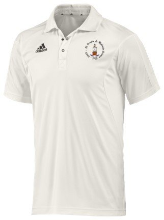 St Crispin & Ryelands CC Adidas Elite Junior Playing Shirt