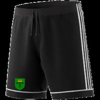 Bronze CC Adidas Black Junior Training Shorts