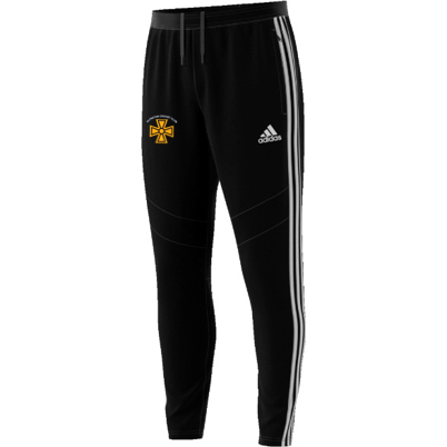 Alfreton CC Adidas Black Training Pants