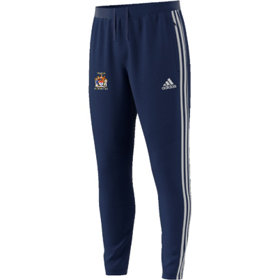 Peterlee CC Adidas Junior Navy Training Pants